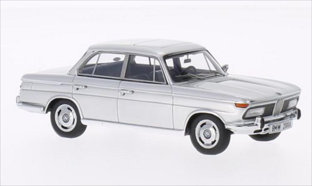 Bmw 2000 A 1/43 Minichamps grise 1962 miniature