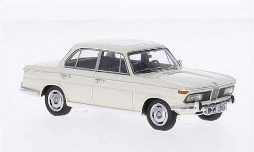 Bmw 2000 A 1/43 Minichamps A white 1962