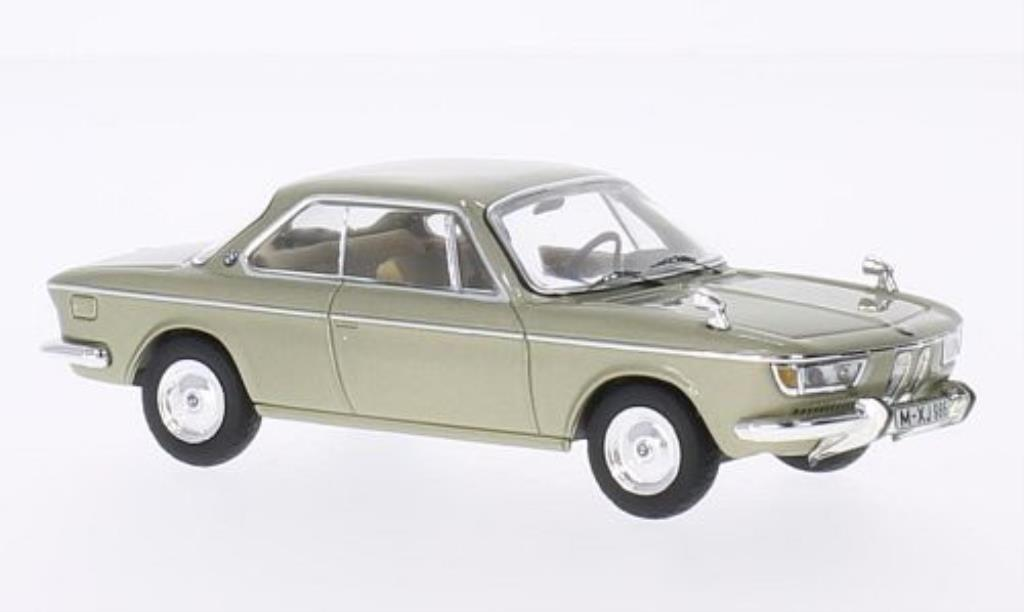 Bmw 2000 CS 1/43 IXO beige 1970 miniature