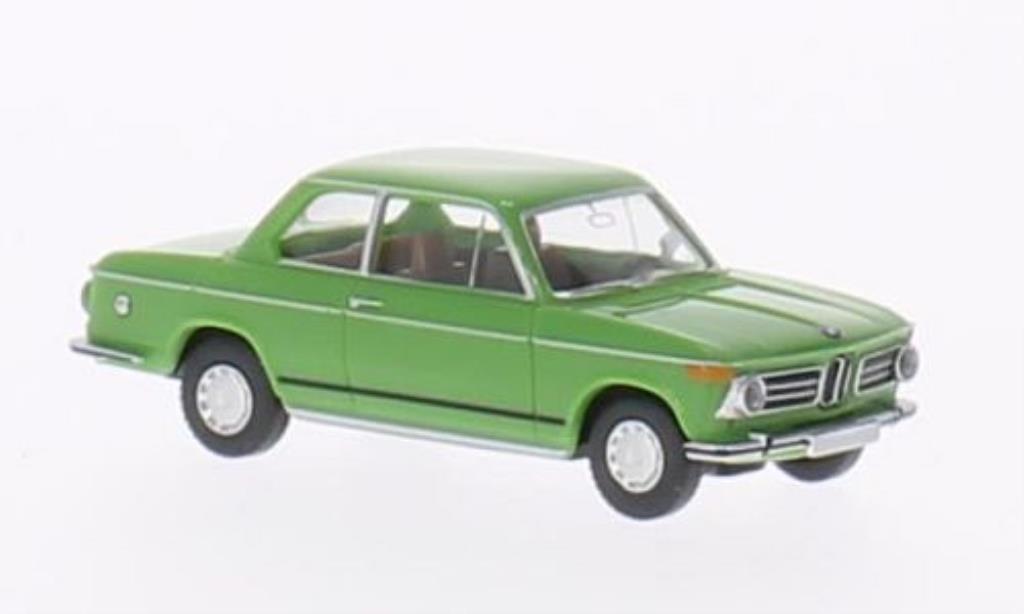 Bmw 2002 1/87 Wiking  verde miniatura