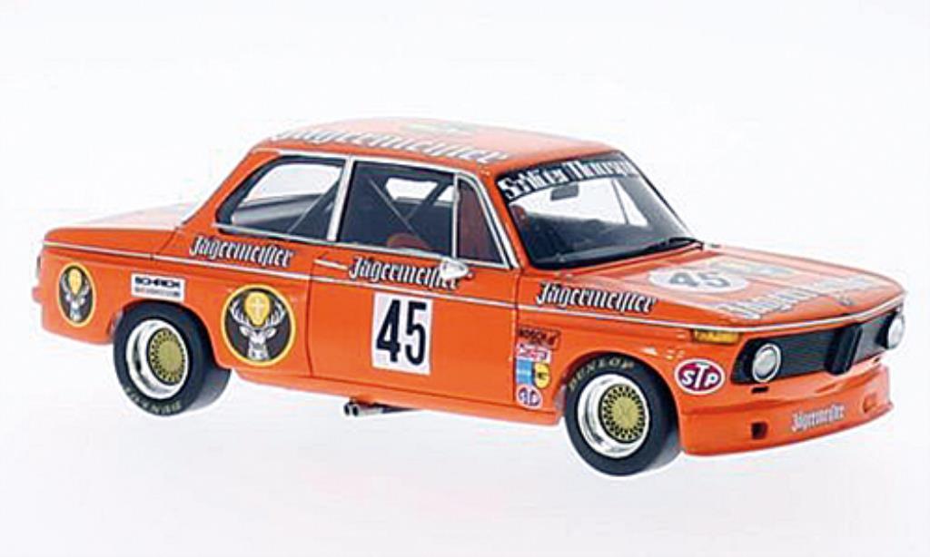 Bmw 2002 Tii 1/43 Spark No.45 Jagermeister DRM 200 Meilen Norisring 1974 miniature