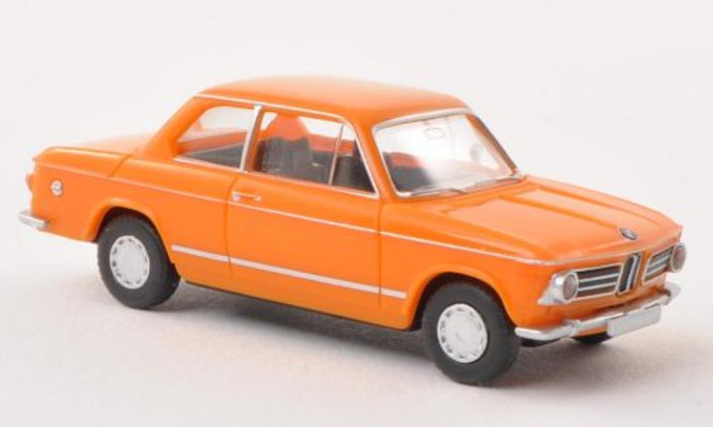 Bmw 2002 1/87 Wiking orange miniature