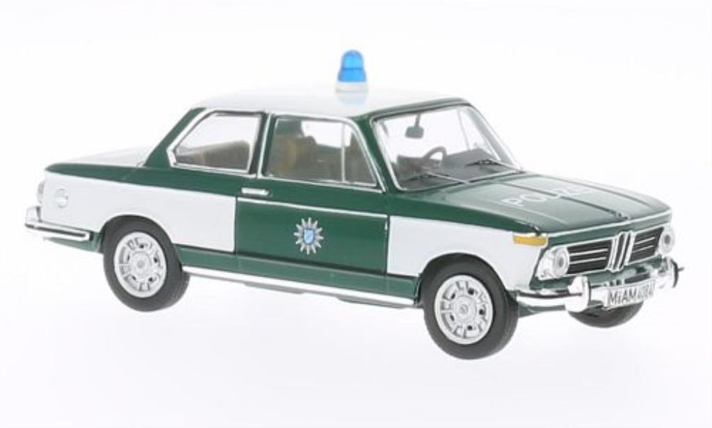 Bmw 2002 Tii 1/43 IXO Polizei 1972 diecast model cars