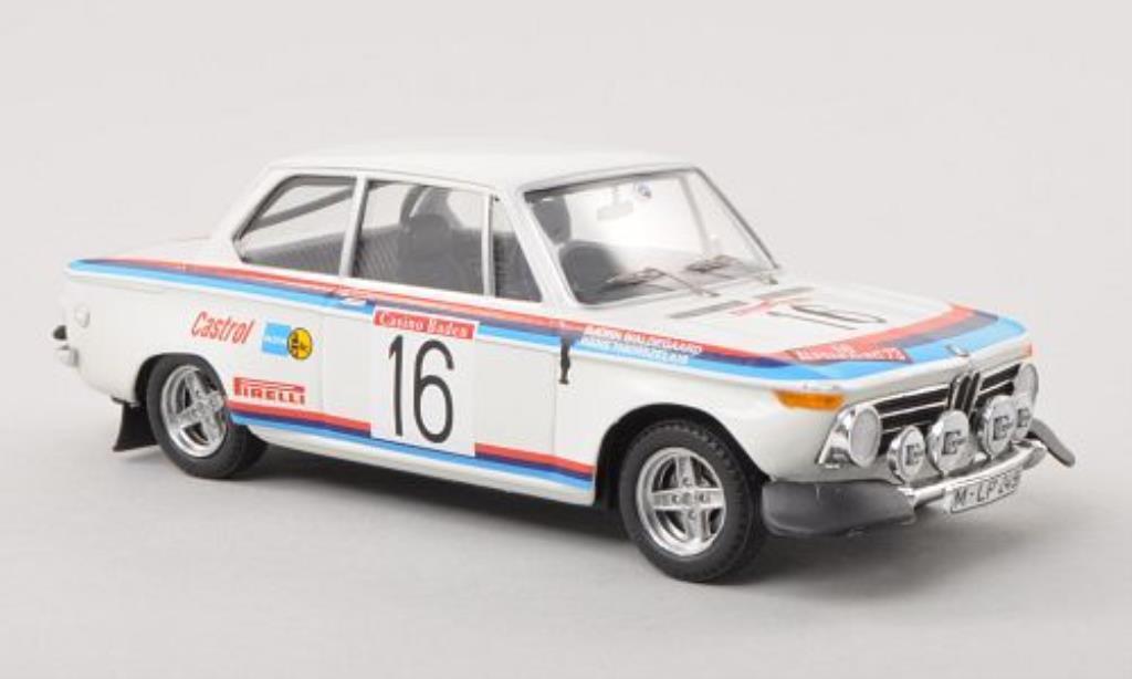 Bmw 2002 Ti 1/43 Trofeu No.16 Alpen Rally osterreich 1973 /H.Thorszelius miniature