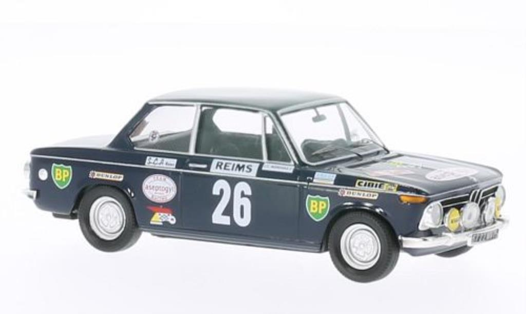 Bmw 2002 Ti 1/43 Trofeu No.26 Aseptogyl Rally Monte Carlo 1971 miniature