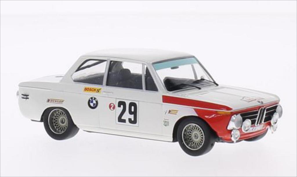Bmw 2002 Ti 1/43 Trofeu No.29 Rallye WM Tour de Corse 1969 /Ambpink miniature