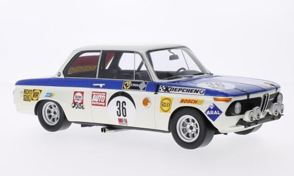 Bmw 2002 Ti 1/18 Spark No.36 24h Nurburgring 1970 miniatura
