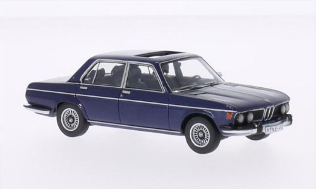 Bmw 3.0 S 1/43 Neo (E3) metallise bleu 1969 miniature