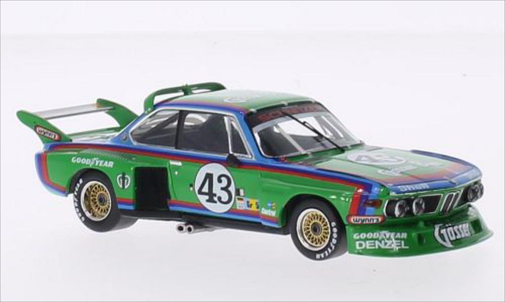 Bmw 3.5 CSL 1/43 IXO CSL Gr.5 No.43 Gosser Bier 24h Le Mans 1976 /A.Krebs