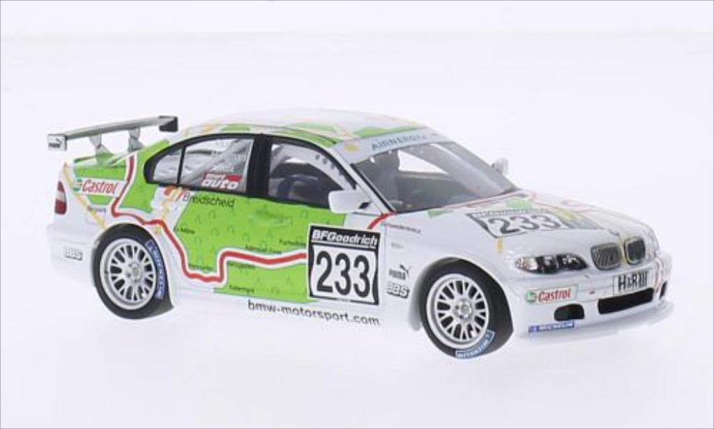 Bmw 320 E46 1/43 Minichamps i (/4) No.233 Schubert Motorsport VLN Nurburgring 2005 /Huismann diecast model cars