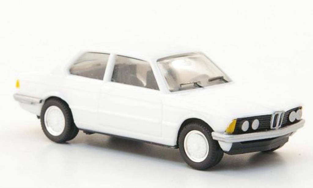 Bmw 323 1/87 Herpa (E21) blanche miniature