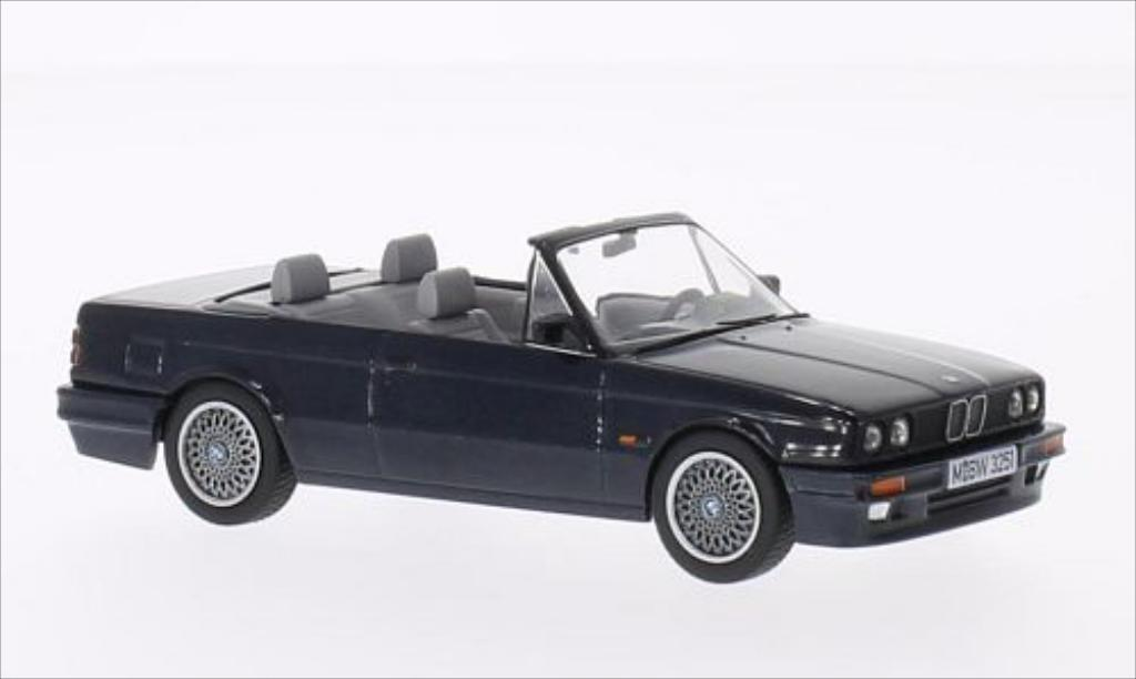 Bmw 325 E30 Cabriolet E30 M Technik Metallic Dunkelblue Vanguards Diecast Model Car 1 43 Buy