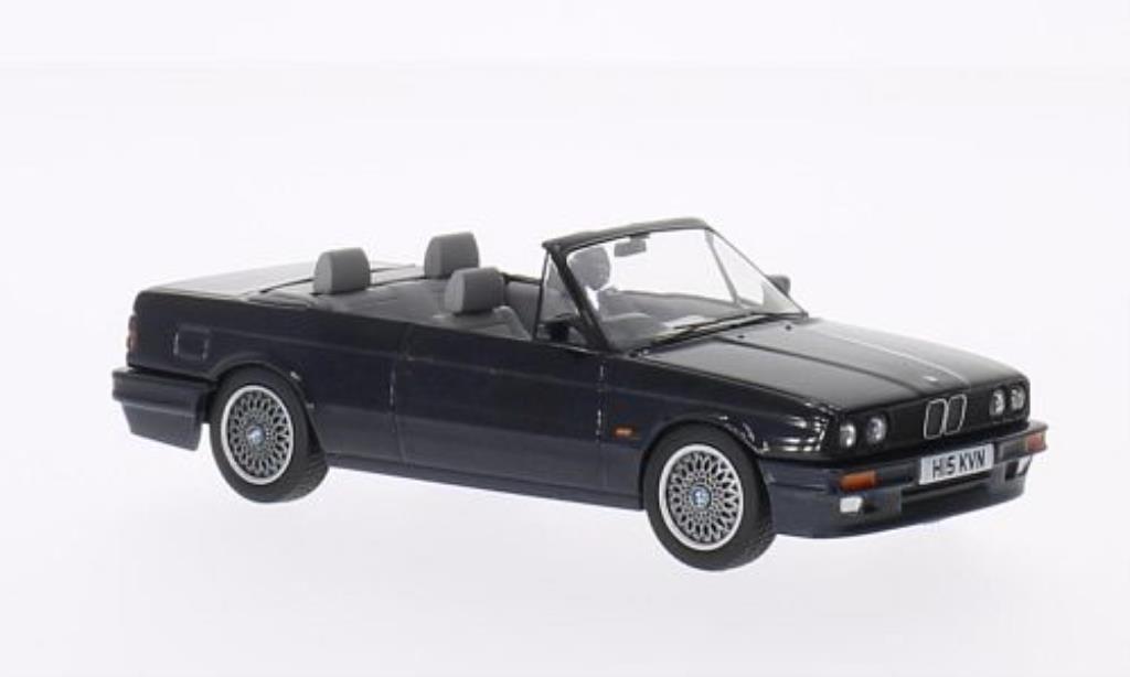 Bmw 325 E30 1/43 Vanguards i  Cabriolet bleu RHD