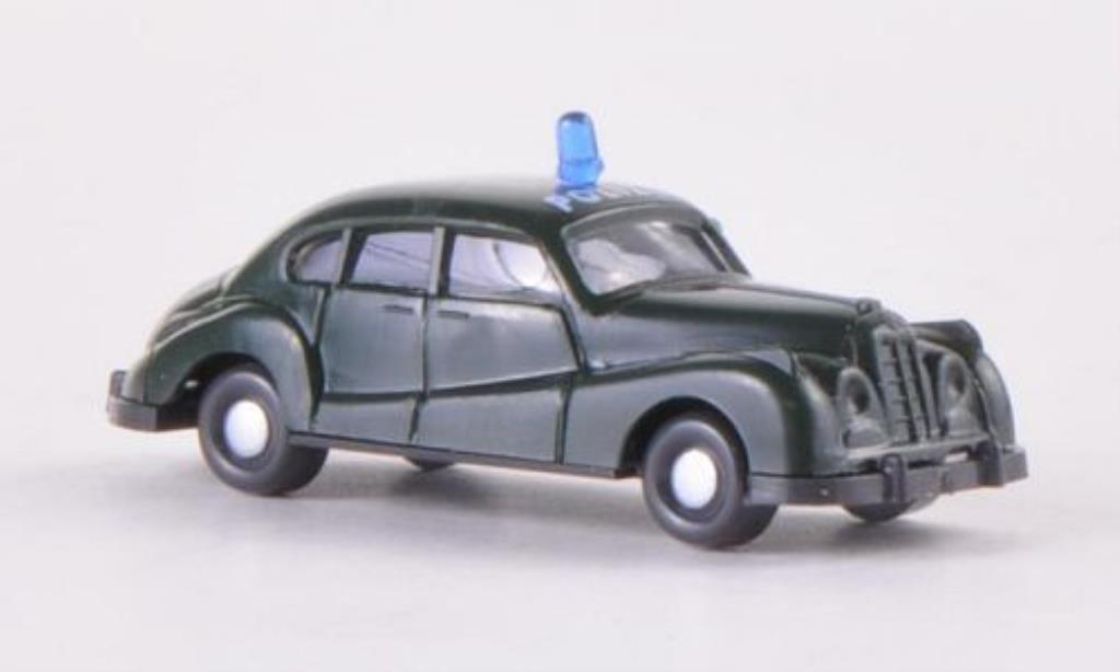 Bmw 501 1/160 Wiking Polizei miniature