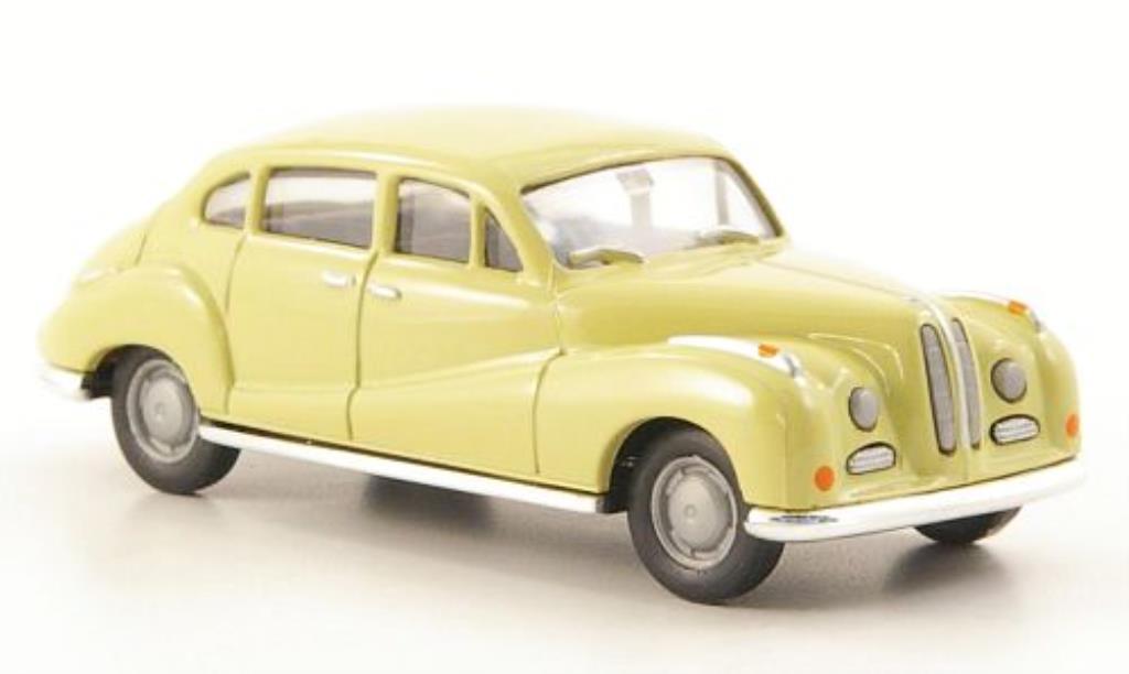 Bmw 502 1/87 Herpa beige miniature