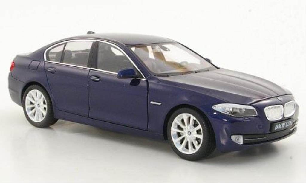 Bmw 535 1/24 Welly i (F10) bleu miniature