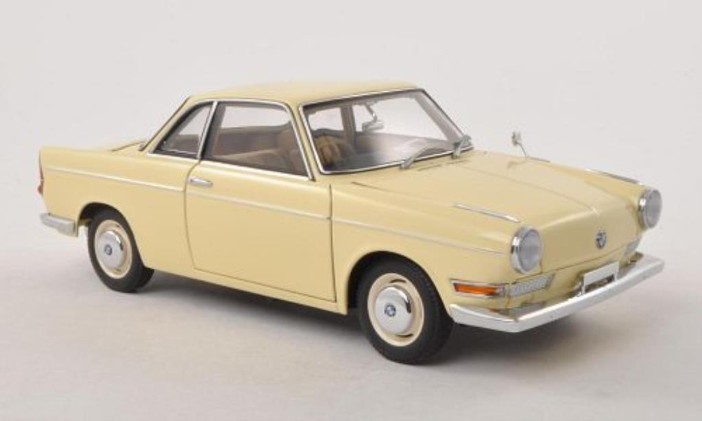 Bmw 700 1/18 Autoart Sport Coupe beige diecast model cars