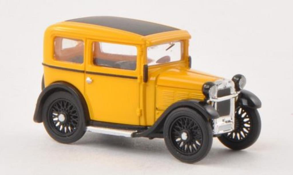Bmw Dixi 1/87 Busch yellow 1929 diecast model cars