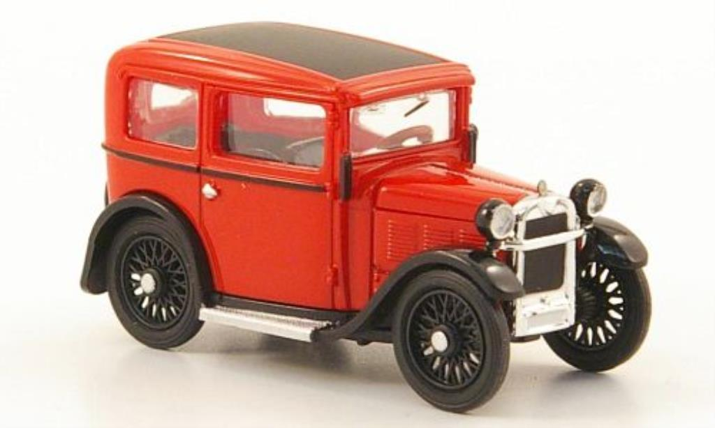 Miniature Bmw Dixi rouge 1929 Ricko. Bmw Dixi rouge 1929 miniature 1/87