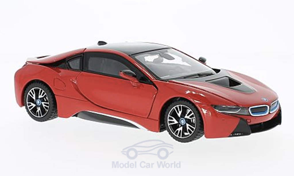 Miniature Bmw i8 rouge Rastar. Bmw i8 rouge miniature 1/24
