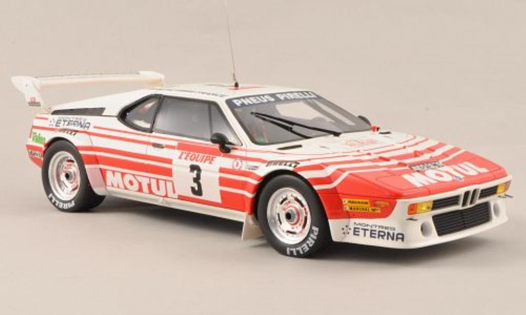 Bmw M1 1983 1/18 Ottomobile Gruppe B No.3 Motul Tour de Corse 1983 miniature