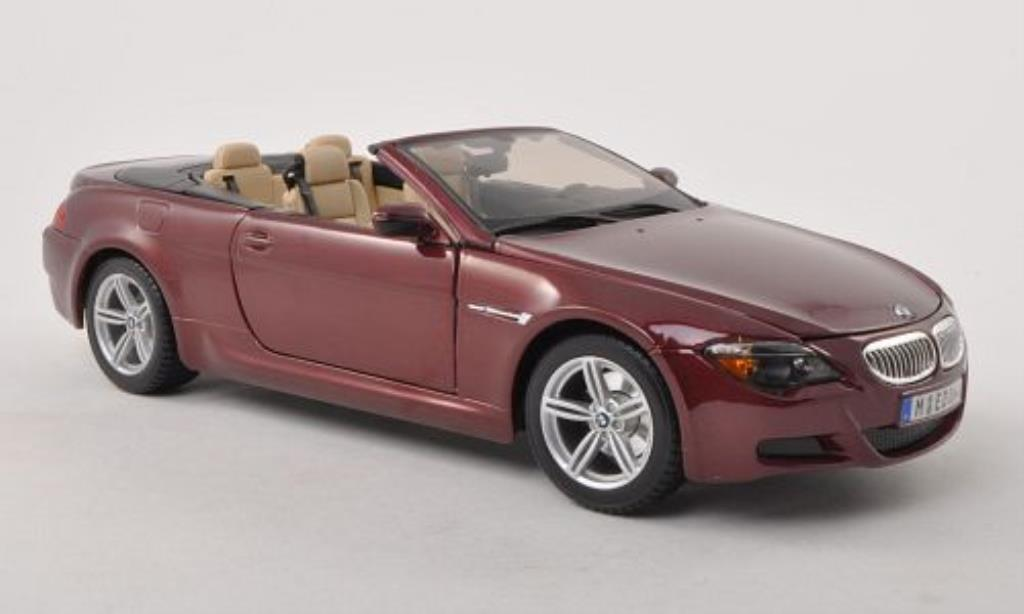 bmw m6 e64 e64 rot maisto modellauto 1 18 kaufen verkauf modellauto online. Black Bedroom Furniture Sets. Home Design Ideas
