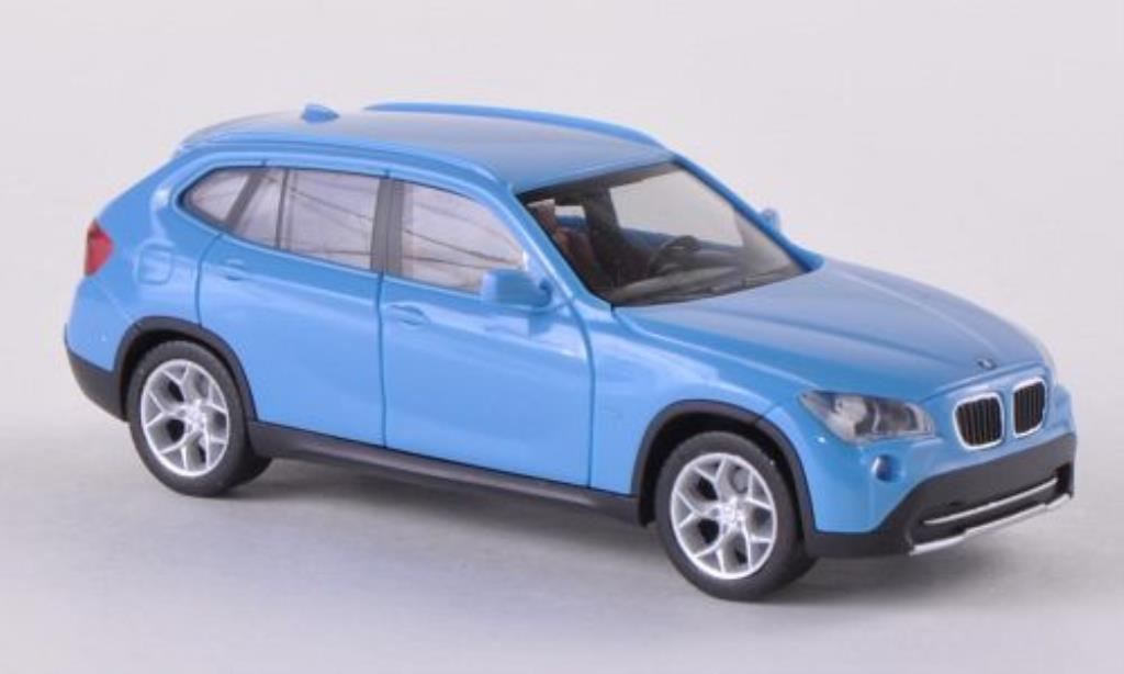 bmw x1 e84 miniature bleu herpa 1 87 voiture. Black Bedroom Furniture Sets. Home Design Ideas