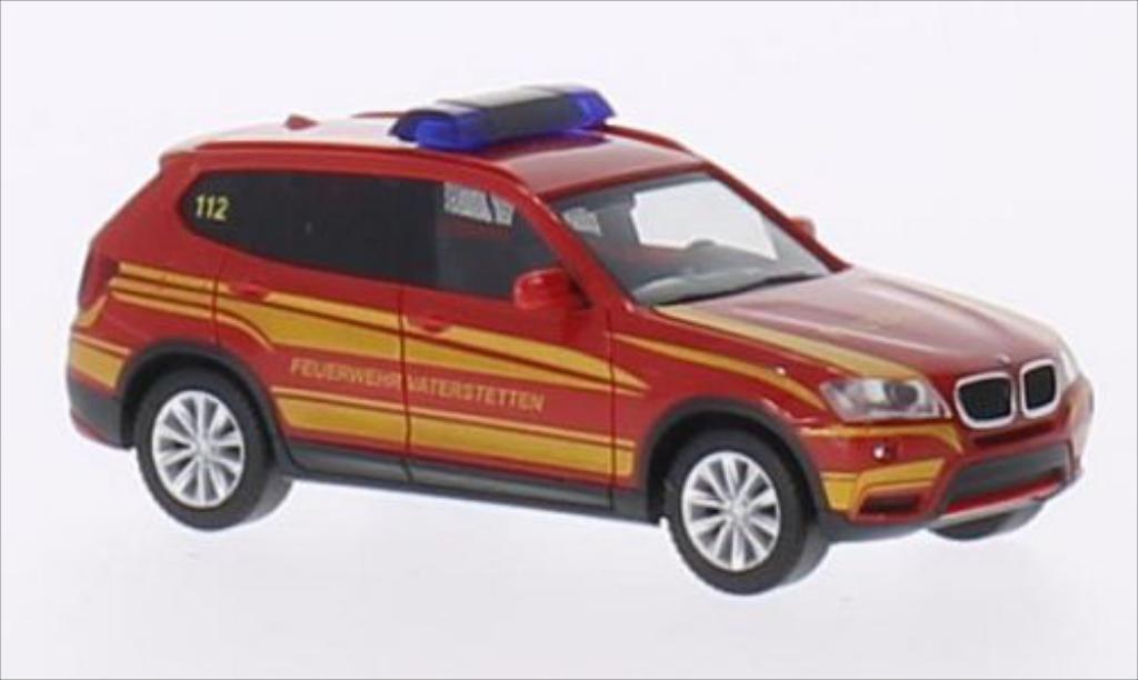 Bmw X3 F25 1/87 Herpa Feuerwehr Vaterstetten diecast model cars