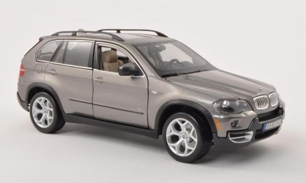 Bmw X5 E70 1/19 Burago grey 2007 diecast model cars