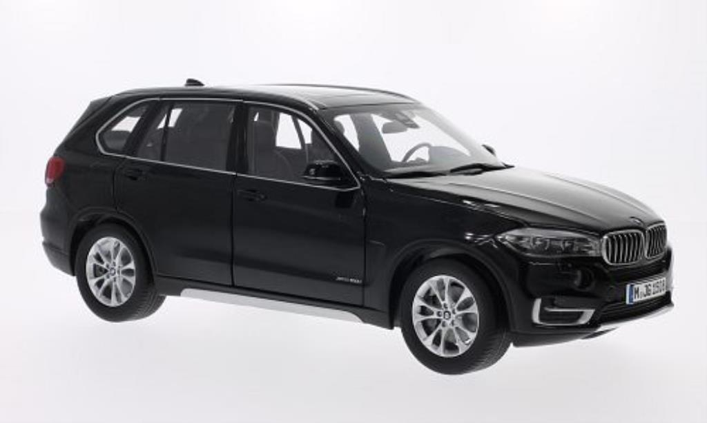 Bmw X5 F12 1/18 BMW black 2014 diecast model cars