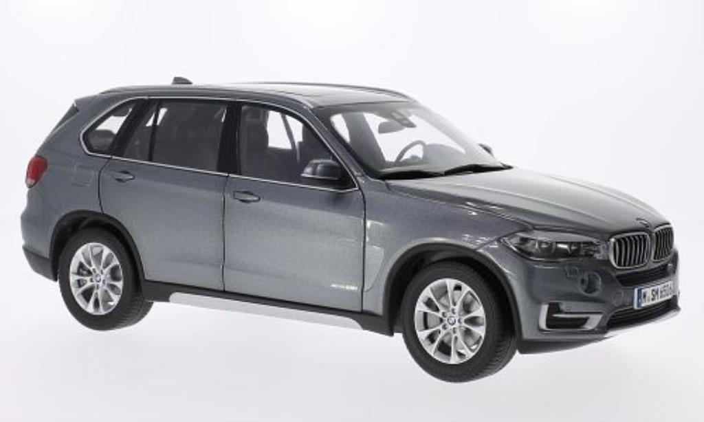 Bmw X5 F15 1/18 BMW grey 2014 diecast model cars