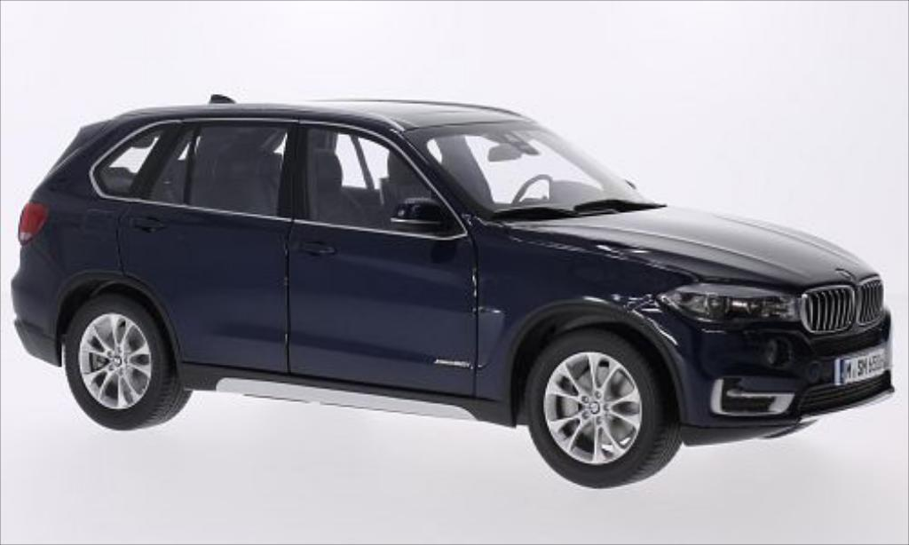 Bmw X5 F15 1/18 Paragon metallise bleu diecast model cars