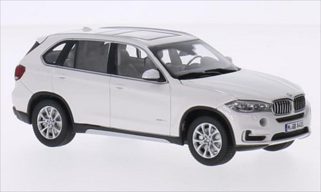 Bmw X5 F15 1/43 Paragon metallise white diecast model cars