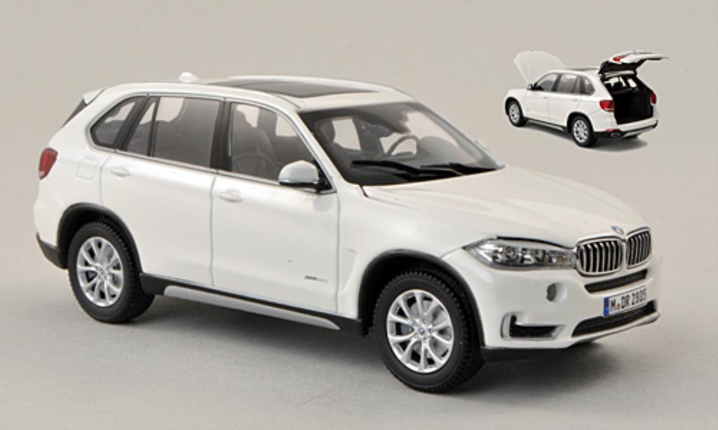 Bmw X5 F15 1/43 Kyosho white 2013 diecast model cars