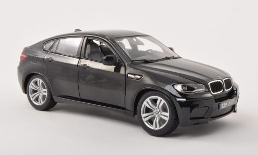 Bmw X6 E71 M Black Burago Diecast Model Car 1 18 Buy