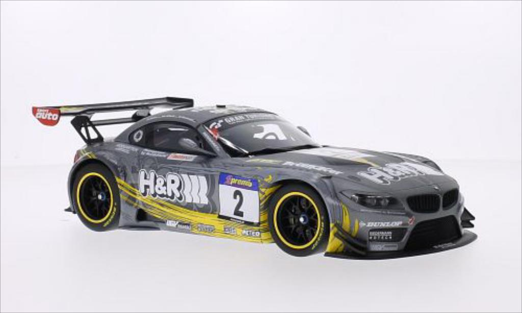 Bmw Z4 E89 1/18 Minichamps GT3 No.2 Team H&R Spezialfedern H&R VLN 24h Nurburgring 2013 /N.Kentenich miniature