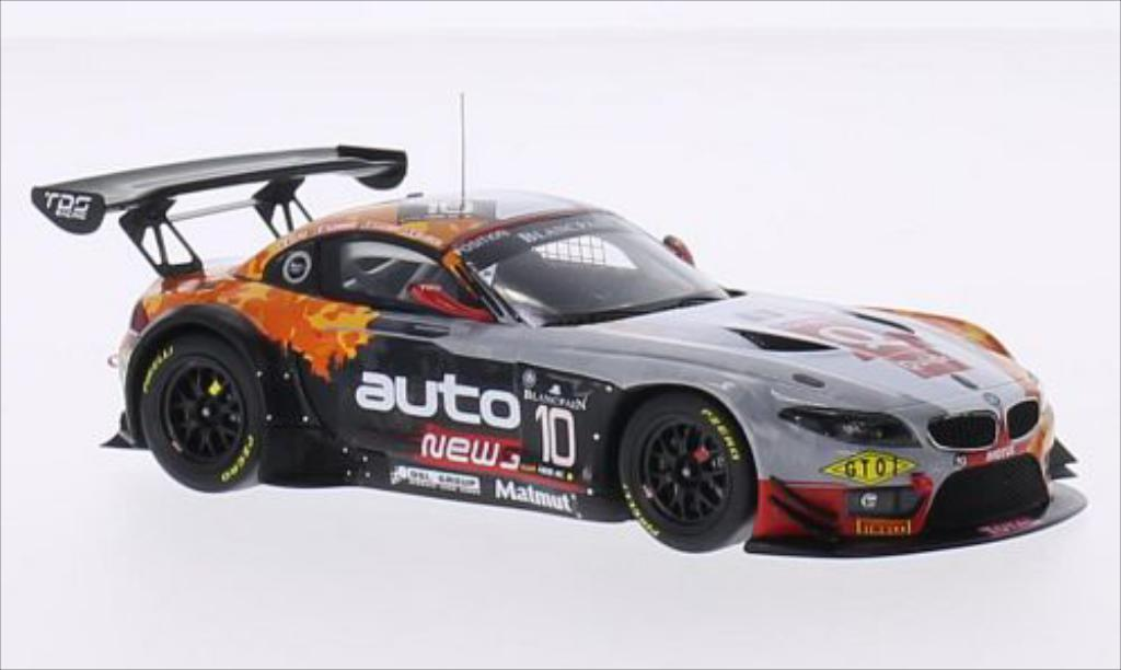 Bmw Z4 E89 1/43 Minichamps GT3 No.10 Team TDS Racing 24h Spa 2014 /O.Pla