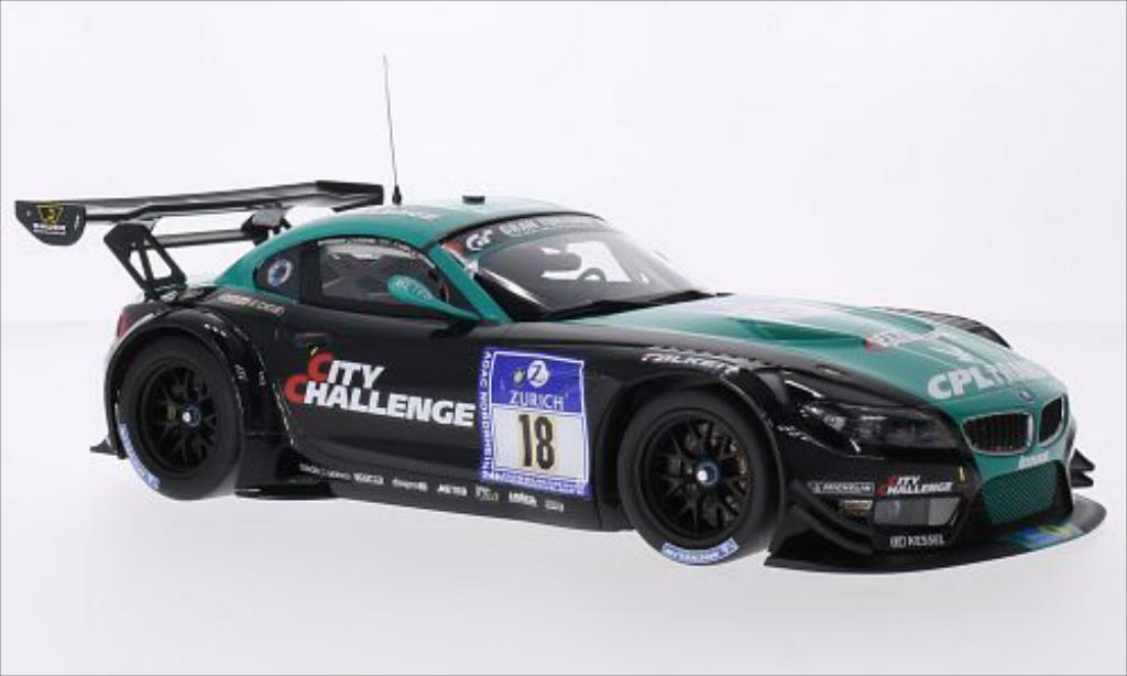 Bmw Z4 E89 1/18 Minichamps GT3 No.18 BMW Team VITA4ONE CPL Trans 24h Nurburgring 2012 /P.Lamy