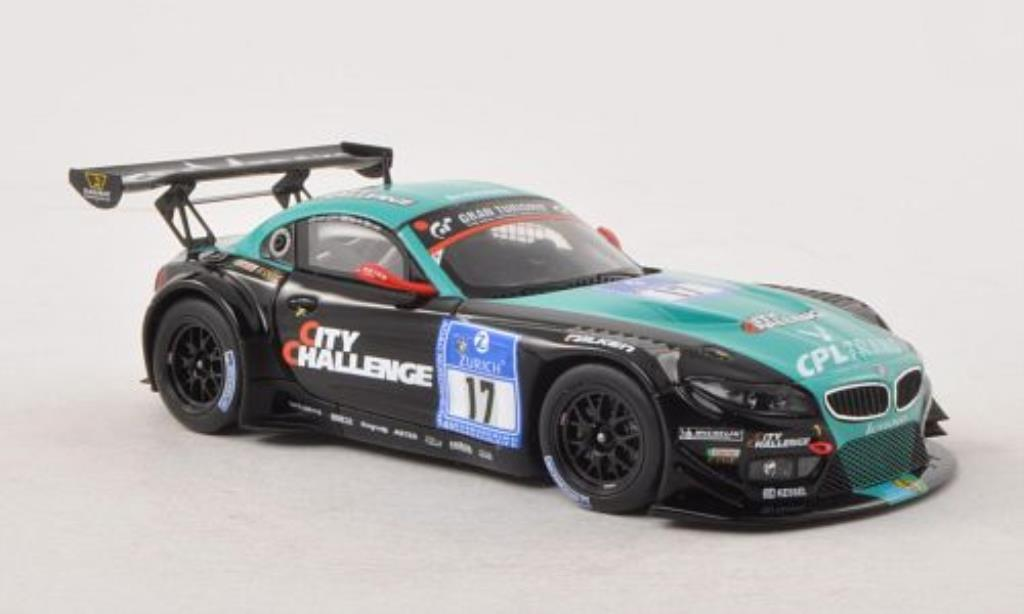 Bmw Z4 E89 1/43 Minichamps GT3 No.17Team vita4-one 24h Nurburgring 2012 /v.d miniature