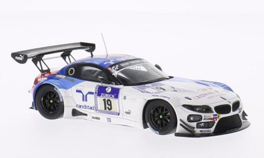 Bmw Z4 E89 1/43 Minichamps GT3 No.19 BMW Team Schubert 24h Nurburgring 2013 /Farfus miniature