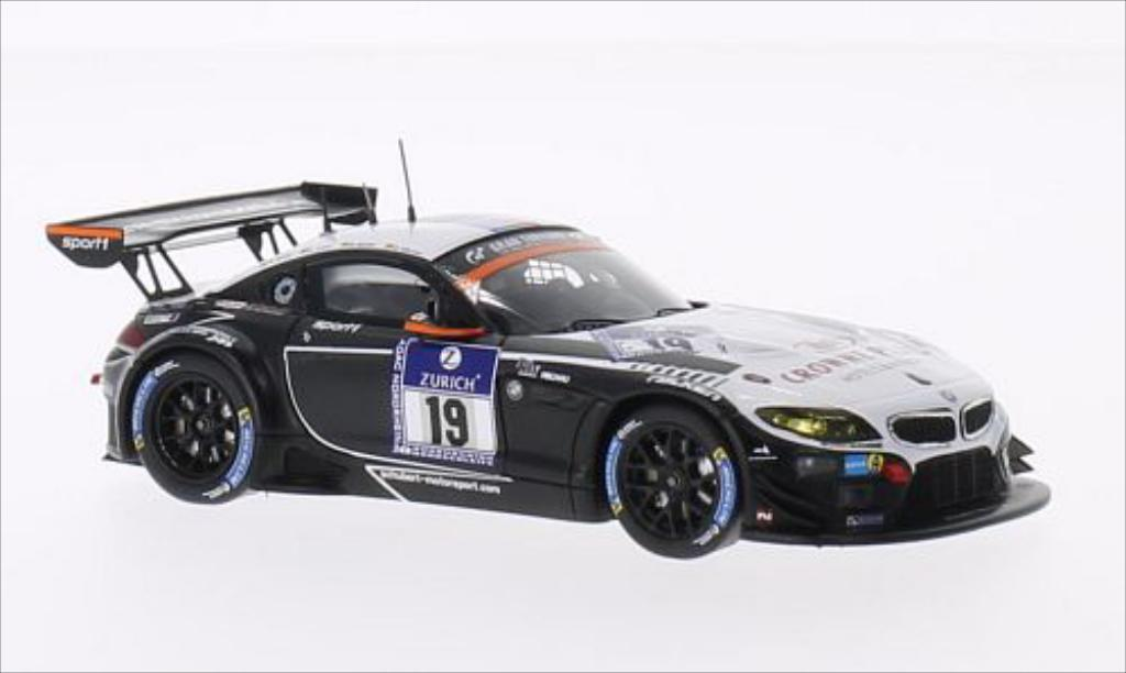 Bmw Z4 E89 1/43 Spark GT3 No.19 Sport Trophy Team Schubert 24h Nurburgring 2014 /A.Sims miniature