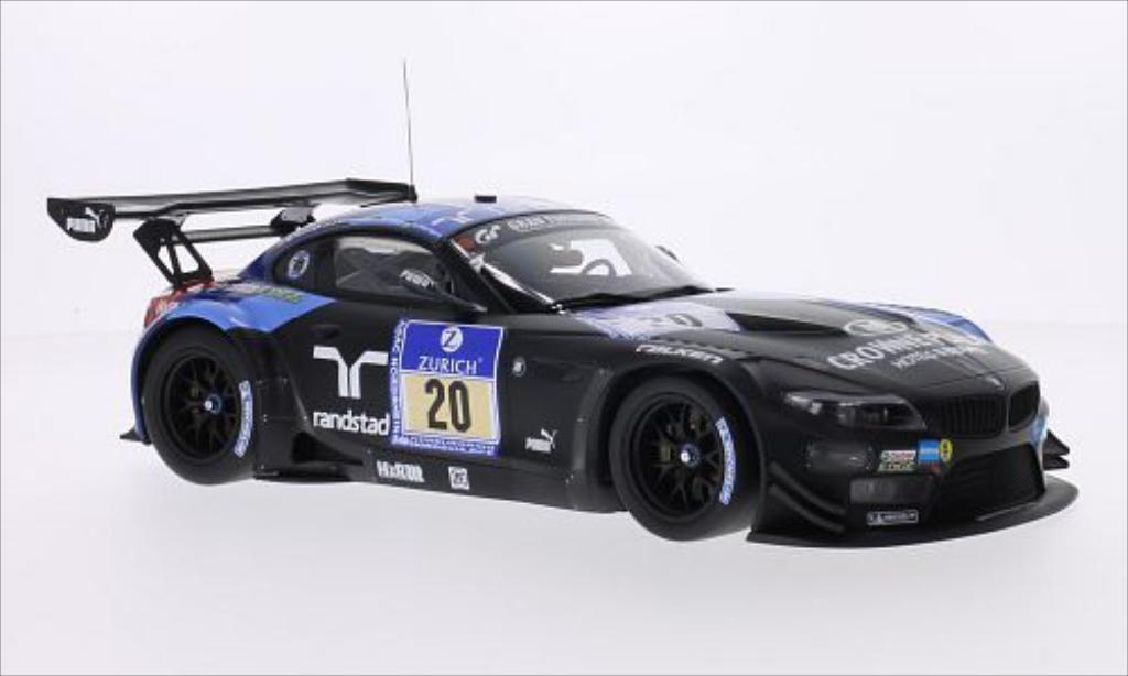 Bmw Z4 E89 1/18 Minichamps GT3 No.20 Team Schubert Randstad 24h Nurburgring 2013 /M.Tomczyk modellino in miniatura