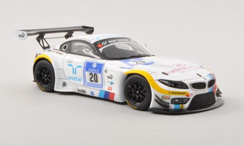 Bmw Z4 E89 1/43 Minichamps GT3 No.20Team Schubert 24h ADAC Nurburgring 2012 /D.Adorf miniature