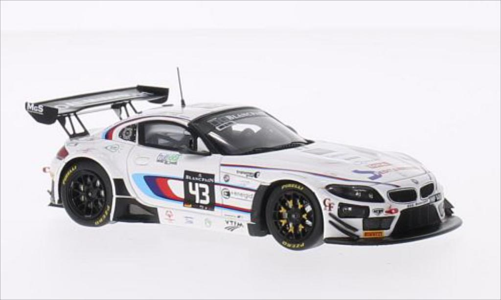Bmw Z4 E89 1/43 Spark No.43 Roal Motorsport 24h Spa 2014 /S.Colombo miniature