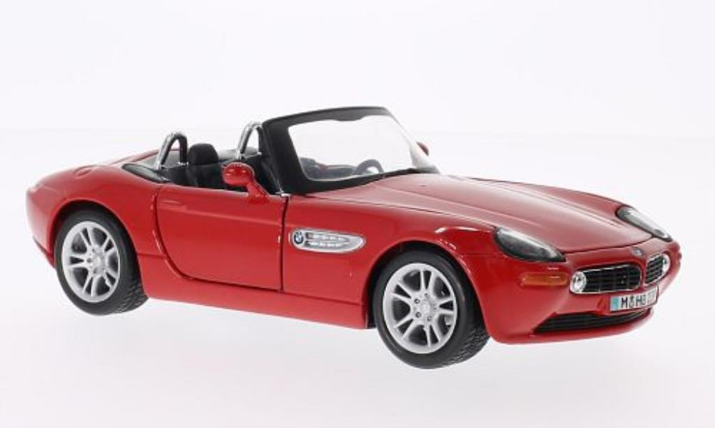 Bmw Z8 1/24 Maisto rouge miniature