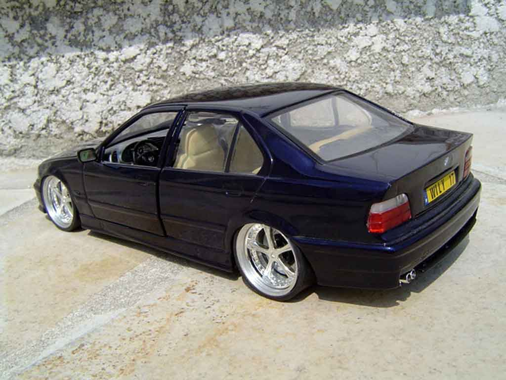 bmw 325 e36 miniature tds jantes 17 pouces kit m3 ut models 1 18 voiture. Black Bedroom Furniture Sets. Home Design Ideas