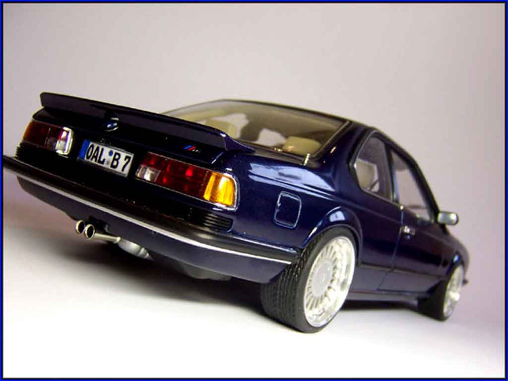 Bmw 635 CSI 1/18 Autoart m alpina b7 tuning miniature