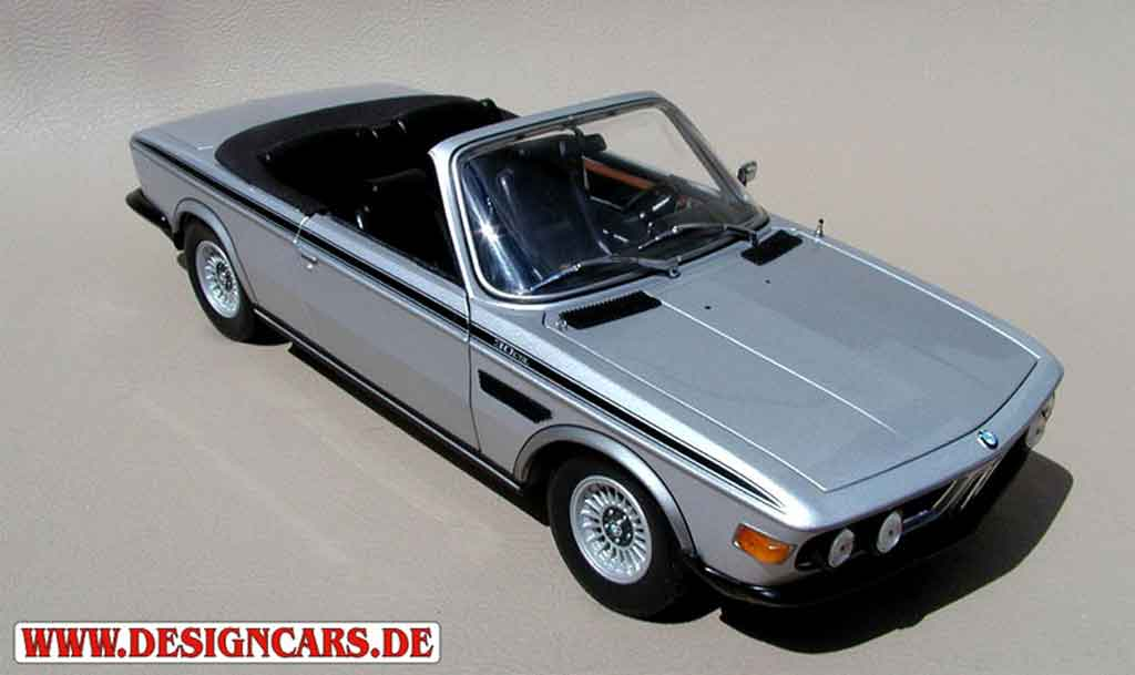 Bmw 3.0 CSi 1/18 Minichamps e9 cabriolet 1973 tuning diecast model cars