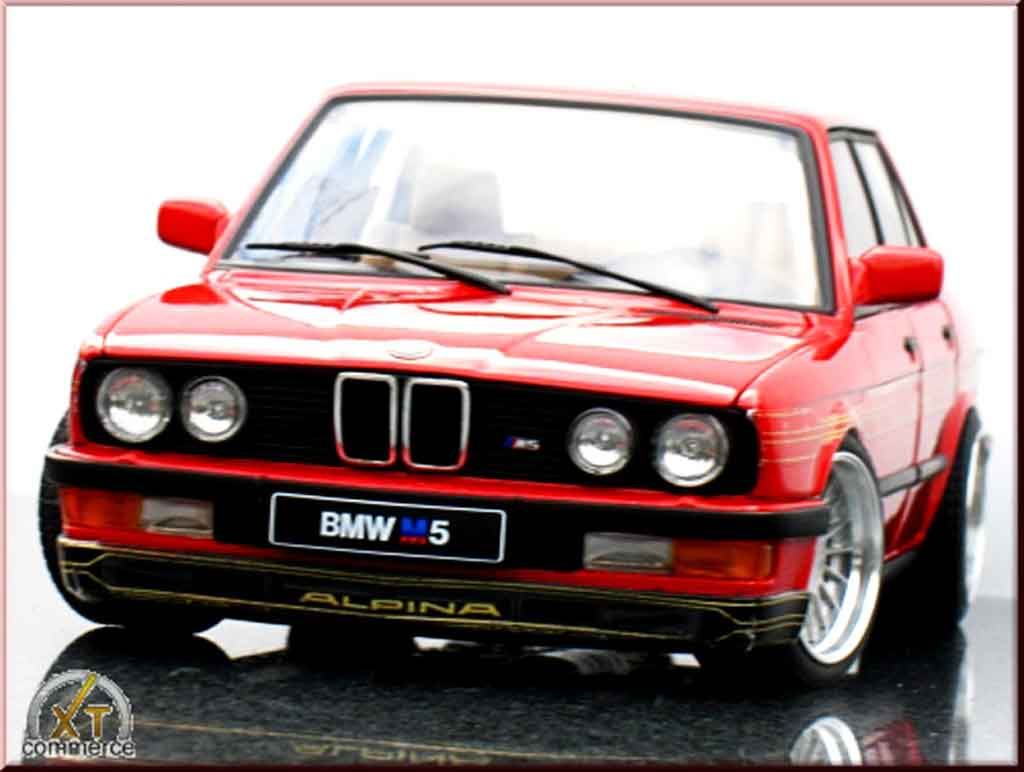 Bmw 535 M e28 m alpina b10 3.5 red Autoart diecast model car 1/18 ...