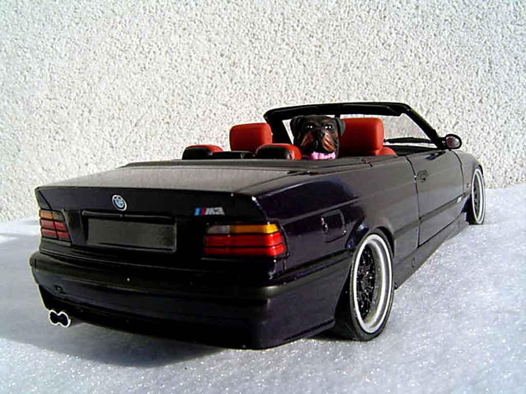 Bmw M3 E36 cabriolet 1/18 Ut Models jantes bbs